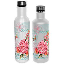 Indigo Falls® Boho Chic Insulated Water Bottle with Lid