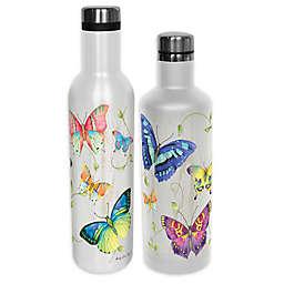 Indigo Falls® Buttleflies Water Bottle with Lid