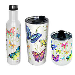 Butterflies Stainless Steel Drinkware Collection