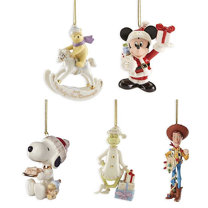 Alternate image 1 for Lenox® Novelty Christmas Ornament Collection
