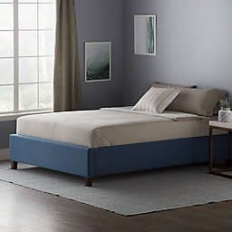 Dream Collection™ by LUCID® Queen Upholstered Platform Bed Frame in Pacific
