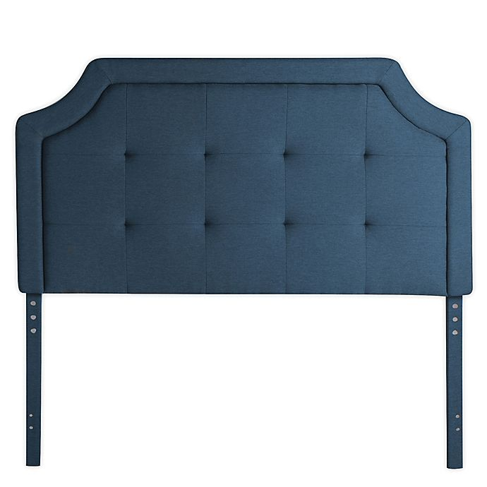 Alternate image 1 for Dream Collection™ by LUCID® Square-Tufted Upholstered Headboard