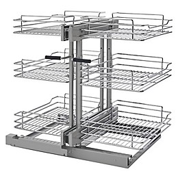 Rev-A-Shelf® 3-Tiered Wire Basket Organizer