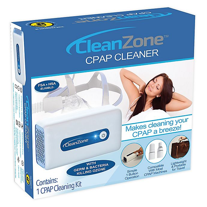 Alternate image 1 for Clean Zone™ CPAP Cleaner and Sanitizer