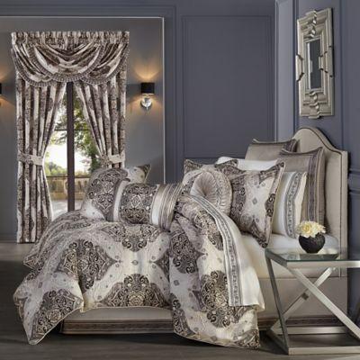 Vera 4 Piece Queen Comforter Set In, J Queen New York Bedding Set