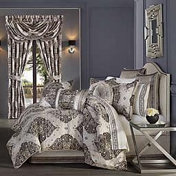 J. Queen New York™ Vera 4-Piece California King Comforter Set in Silver