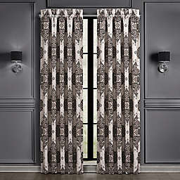 J. Queen New York™ Vera 2-Pack 84-Inch Rod Pocket Window Curtain Panels in Silver