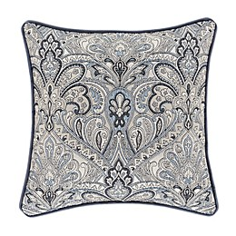 J. Queen New York™ Alexis Square Throw Pillow in Powder Blue
