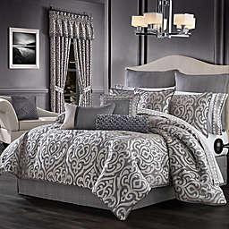 J. Queen New York™ Tribeca 4-Piece California King Comforter Set in Charcoal