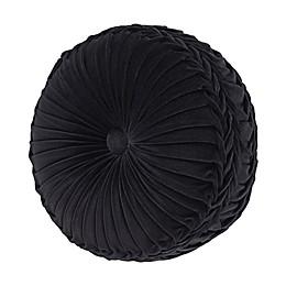 J. Queen New York™ Annette Round Throw Pillow in Black