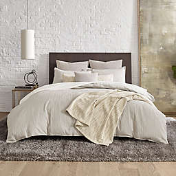 Kenneth Cole New York® Lawrence Duvet Cover Set in Beige