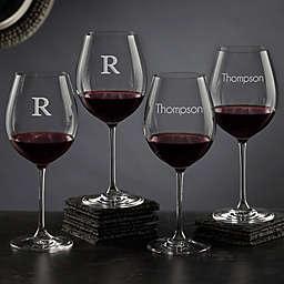Olivia & Oliver™ Madison Personalized 20 oz. Red Wine Glasses (Set of 4)
