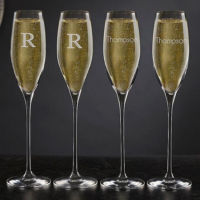 Alternate image 1 for Olivia & Oliver™ Madison Champagne Flute Collection