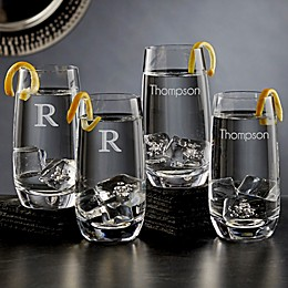 Olivia & Oliver™ Madison Personalized Highball Glasses (Set of 4)