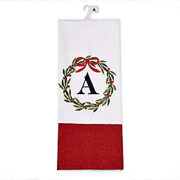 Herritage Clothing Monogram Christmas Kitchen Towel