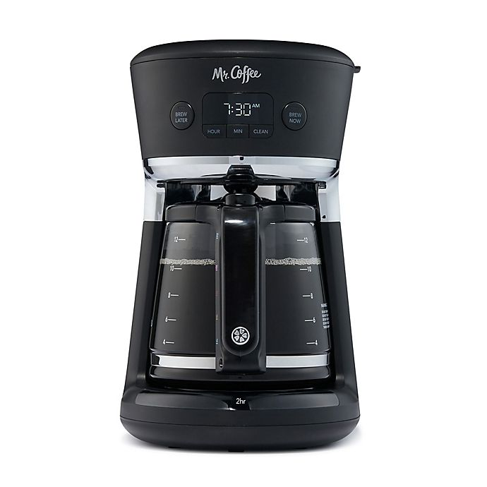Alternate image 1 for Mr. Coffee® 12-Cup Deluxe Easy Measure Coffee Maker in Black