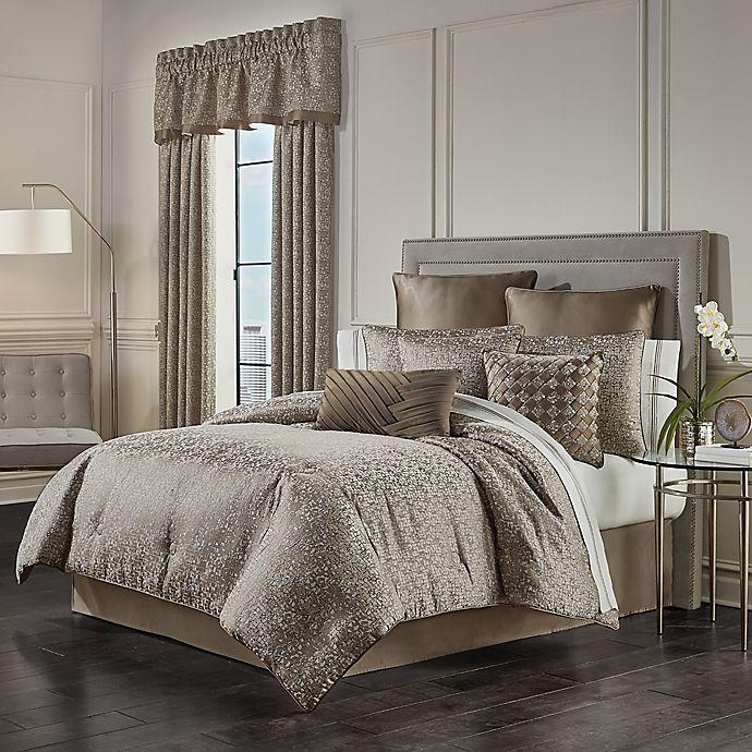 Alternate image 1 for J. Queen New York™ Cracked Ice 4-Piece Comforter Set