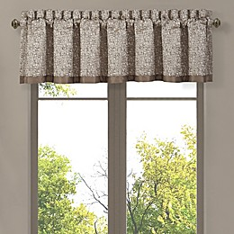 J. Queen New York™ Cracked Ice Rod Pocket Window Valance