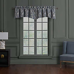 Waterford® Danehill 2-Pack Window Valances in Blue