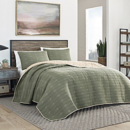Eddie Bauer® Troutdale Quilt Set in Sprig