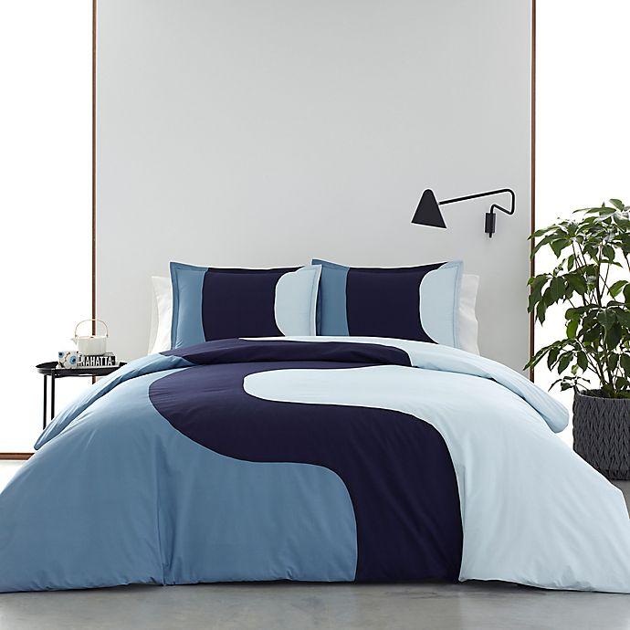 Alternate image 1 for Marimekko® Seireeni Duvet Cover Set in Blue