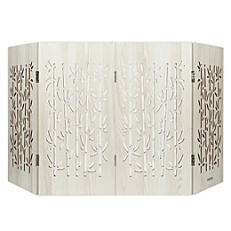 Cardinal Gates® Freestanding Bamboo Decorative Pet Gate in Aspen