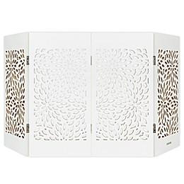 Cardinal Gates® Freestanding Starburst Decorative Pet Gate in White