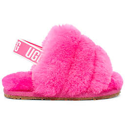 UGG® Fluff Strap Sandal in Pink