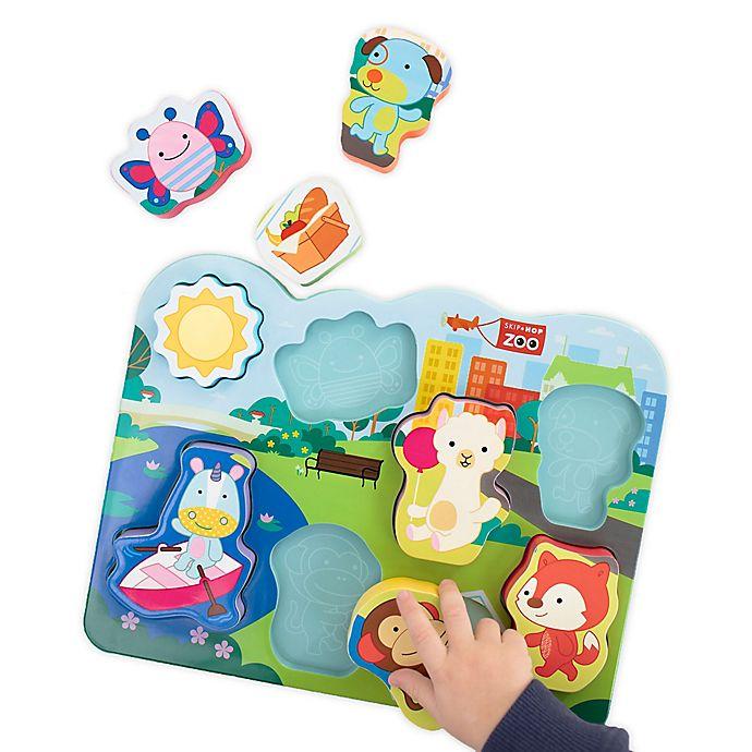 Alternate image 1 for SKIP* HOP® 8-Piece ZOO® Park Pals Puzzle