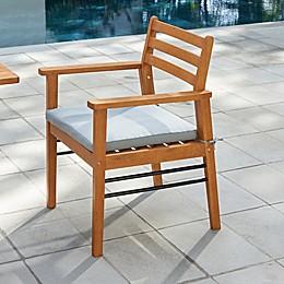 Vifah Gloucester Eucalyptus Patio Dining Chair