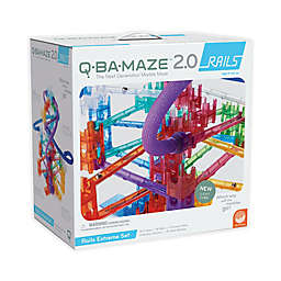 Q-BA-MAZE 2.0 Rails Extreme Marble Run Set