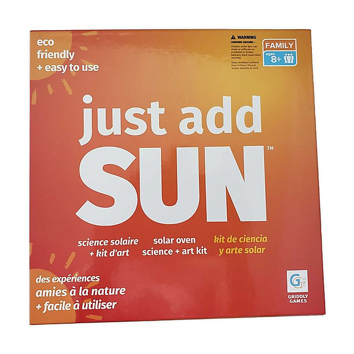 Alternate image 1 for Just Add Sun Science Kit