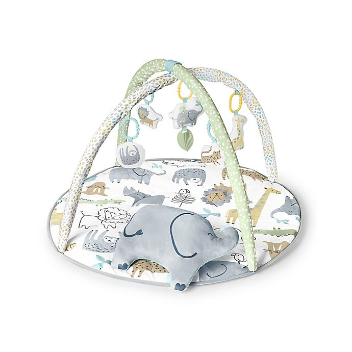 Alternate image 1 for carter's® Safari Play Gym in White/Green