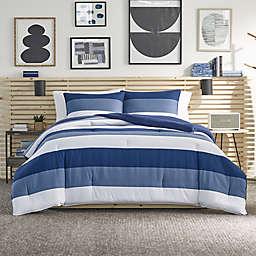 Nautica® Jeans Co Wilton 3-Piece Reversible King Comforter Set in Blue