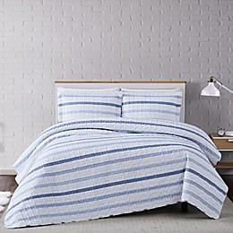 Truly Soft® Waffle Stripe Quilt Set