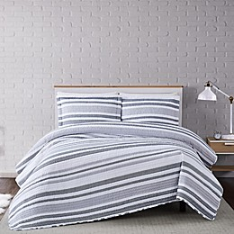 Truly Soft® Curtis Stripe Quilt Set