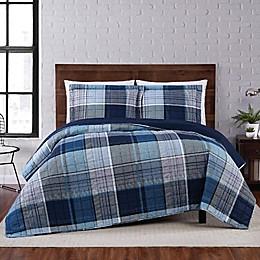 Truly Soft® Trey Plaid Quilt Set