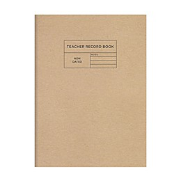 TF Publishing Professional Kraft Teacher Record Grade Book