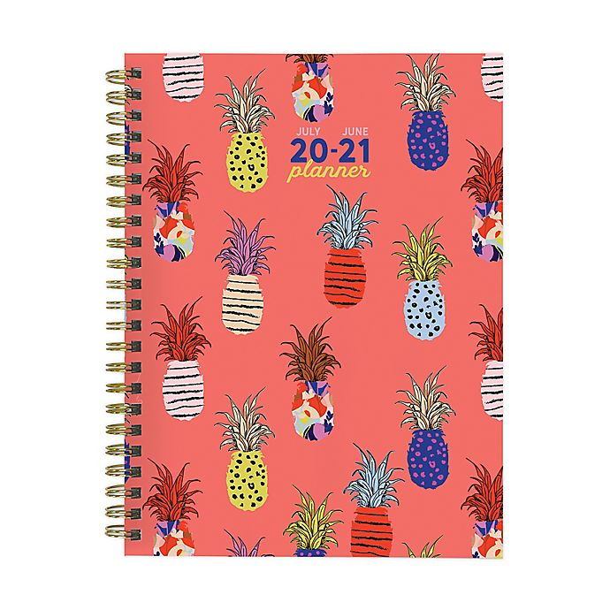 Alternate image 1 for TF Publishing Pineapple July 2020 to June 2021 Weekly/Monthly Planner