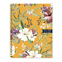TF Publishing Golden Floral July 2020 to June 2021 Large Weekly/Monthly Planner