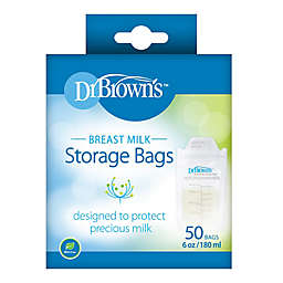 Dr. Brown's 50-Count Breast Milk Storage Bags