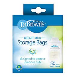 Dr. Brown's 50-Count Breast Milk Storage Bags