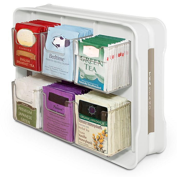Tea Bag Cabinet Organizer And Caddy View A Larger Version Of This Product Image