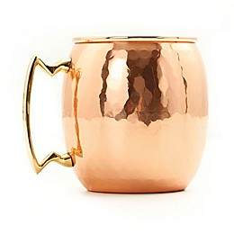 Old Dutch International 16 oz. Moscow Mule Mug with Hammered Finish in Copper