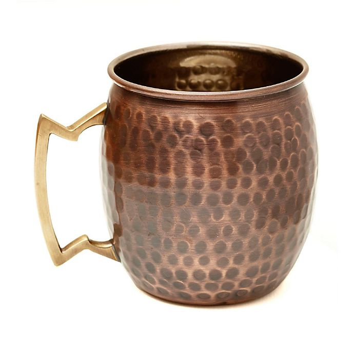 Alternate image 1 for Old Dutch International 16 oz. Antique Hammered Copper Moscow Mule