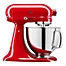 Part of the KitchenAid® Queen of Hearts 5qt. Stand Mixer in Red
