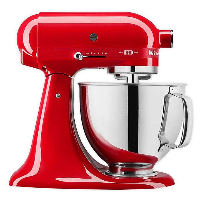 Alternate image 1 for KitchenAid® Queen of Hearts 5qt. Stand Mixer in Red