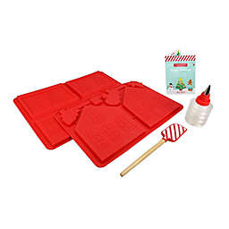 Handstand Kitchen 5-Piece Make Your Own Gingerbread House Set