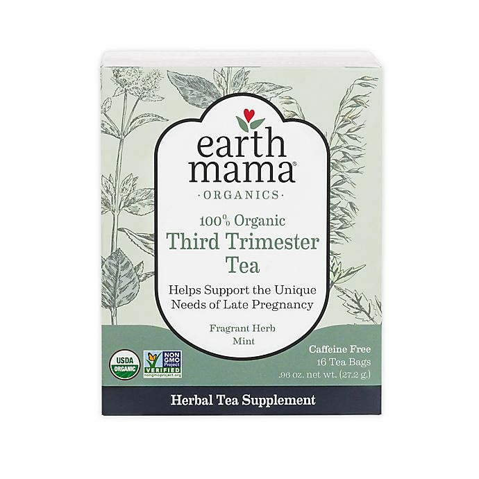 Alternate image 1 for Earth Mama 16-Count Organic Third Trimester Tea