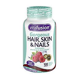Vitafusion™ Gorgeous Hair, Skin & Nails 100-Count Gummy Multivitamin in Raspberry Flavor